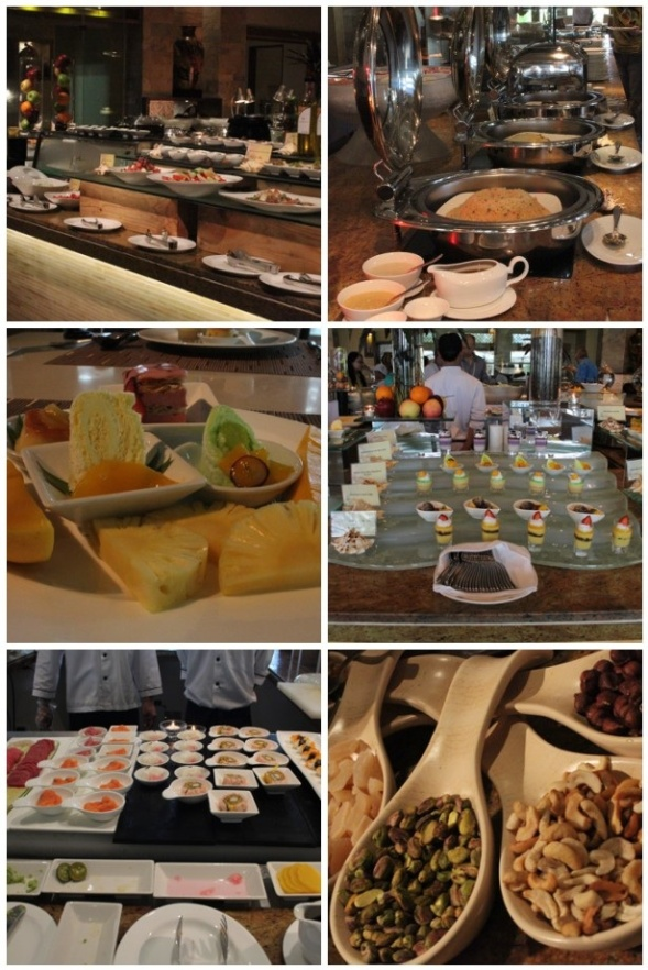 Crimson Beach Resort and Spa Buffet